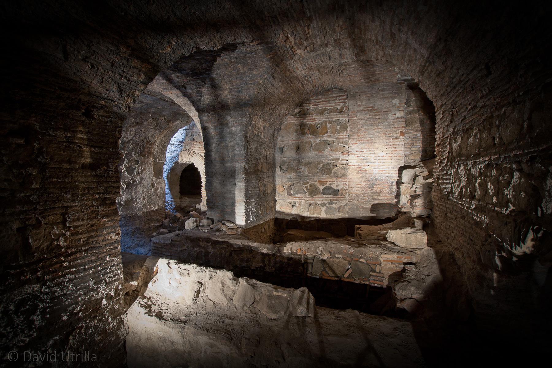 Los sótanos del Museo del Greco
