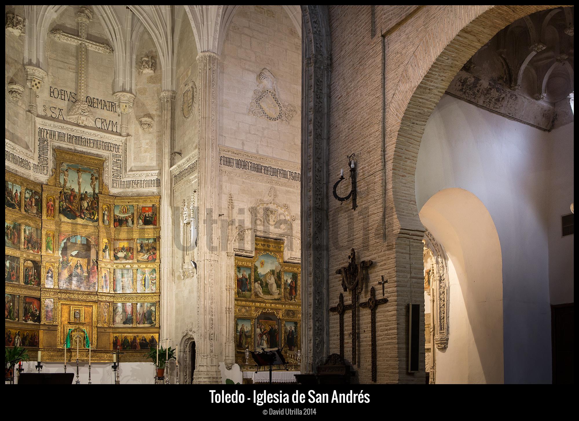 Iglesia de San Andrés, por David Utrilla