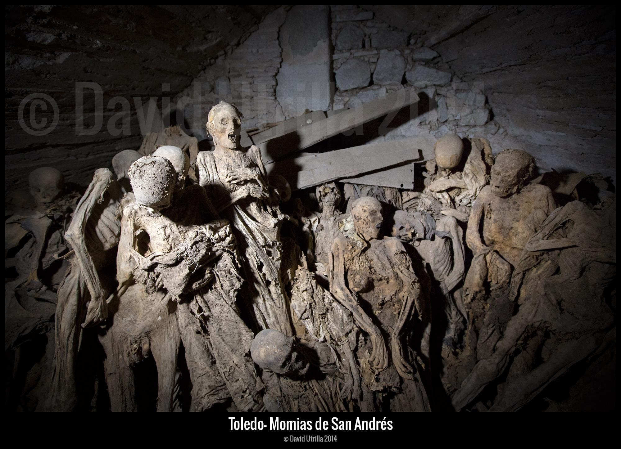 Momias en la Iglesia de San Andrés de Toledo
